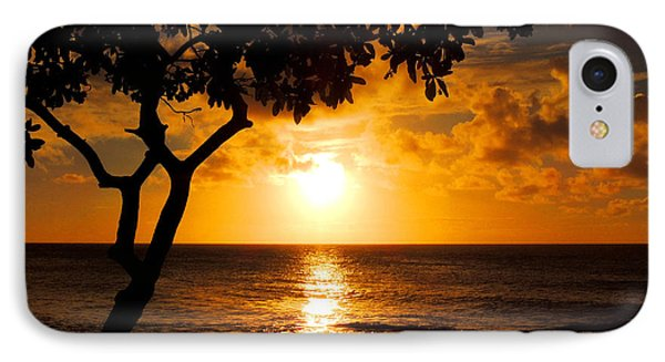 Turtle Bay Sunset IPhone Case by Kristine Merc