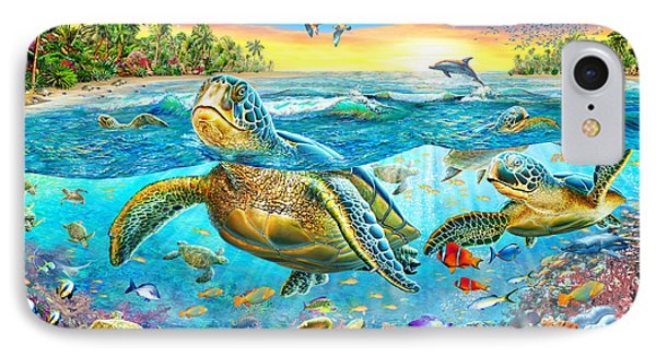 Turtle Cove Phone Case by Adrian Chesterman