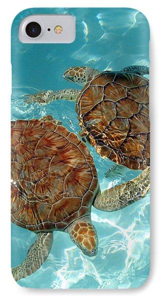 Turtle Dance Phone Case by Irina Davis