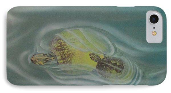Turtle Pond Iv IPhone Case