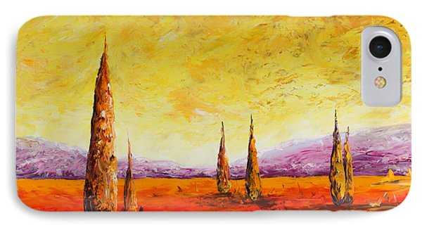 Tuscan Blast IPhone Case by Andrew Sanan