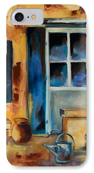 Tuscan Courtyard IPhone Case by Elise Palmigiani