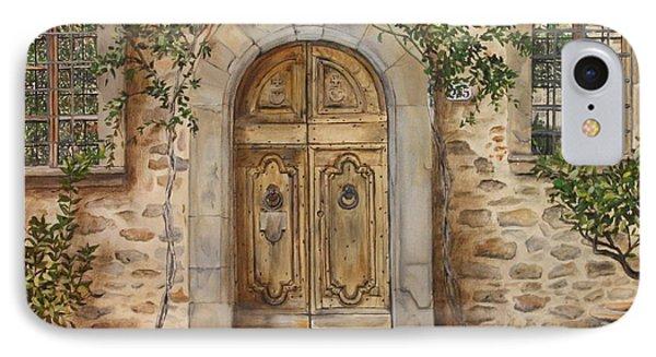 Tuscan Door Phone Case by Lizbeth Gage