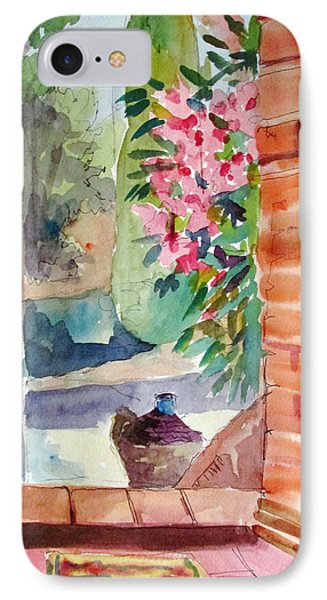 Tuscan Doorway IPhone Case by Linda Novick
