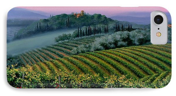 Tuscan Dusk Phone Case by Michael Swanson