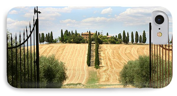 Tuscan Estate IPhone Case by Holly C. Freeman