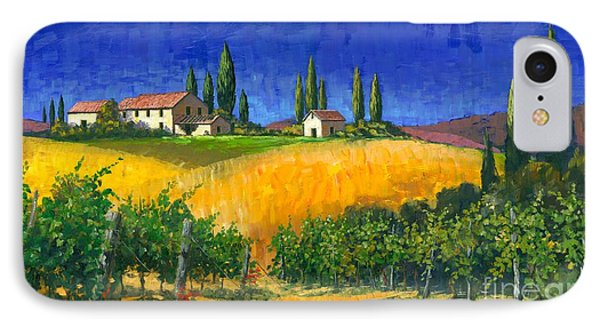 Tuscan Evening Phone Case by Michael Swanson