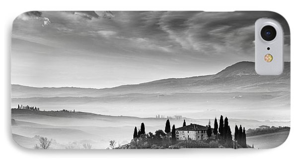 Podere Belvedere 1 IPhone Case by Rod McLean