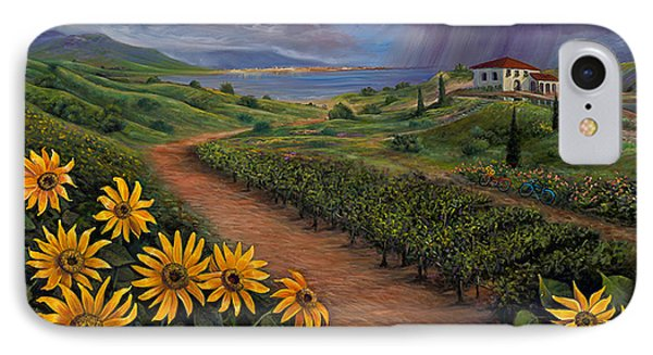 Tuscan Landscape IPhone Case by Claudia Goodell