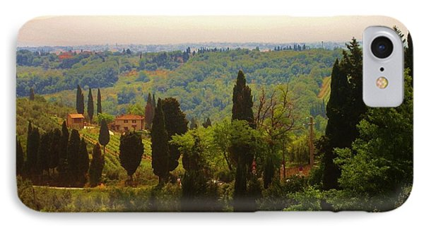 Tuscan Landscape IPhone Case