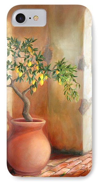 Tuscan Lemon Tree IPhone Case by Michael Rock