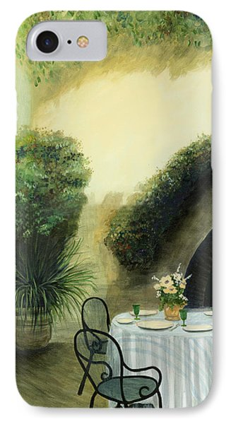 Tuscan Luncheon IPhone Case by Cecilia Brendel