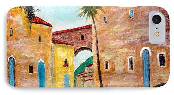 Tuscan Street IPhone Case