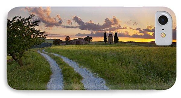 Tuscan Sunset Phone Case by Brian Jannsen
