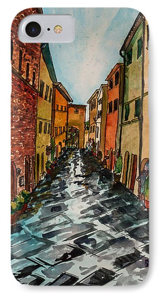 Tuscan Town IPhone Case