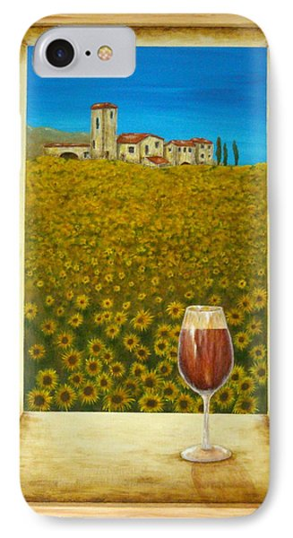 Tuscan View Phone Case by Pamela Allegretto
