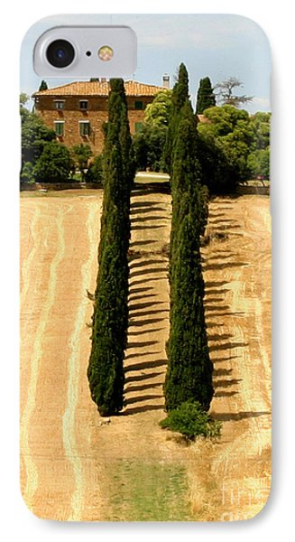 Tuscan Villa IPhone Case by Holly C. Freeman