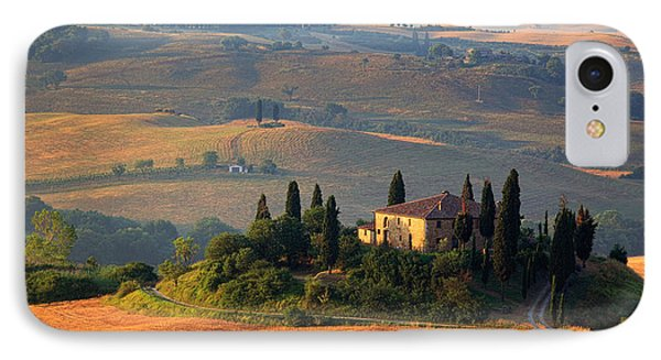 Tuscan Villa IPhone Case by Inge Johnsson