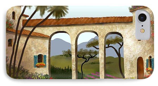 Tuscan Villa Of Beauty  IPhone Case
