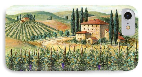 Tuscan Vineyard And Villa IPhone 7 Case