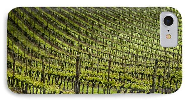 Tuscan Vineyard Series 1 IPhone Case by John Pagliuca