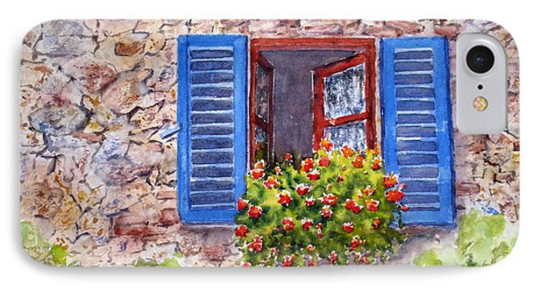 Tuscan Window IPhone Case by Mohamed Hirji