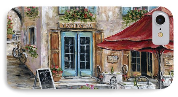 Tuscan Trattoria IPhone Case by Marilyn Dunlap