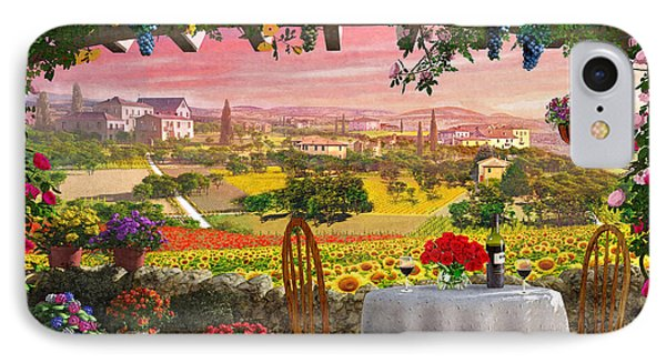 Tuscany Hills IPhone Case by Dominic Davison