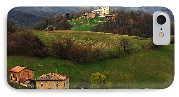 Tuscany Landscape 3 Phone Case by Bob Christopher