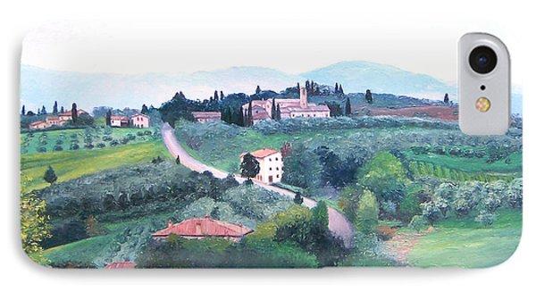 Tuscany Landscape IPhone Case by Jan Matson