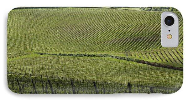 Tuscany Vineyard Series 2 IPhone Case by John Pagliuca