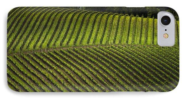 Tuscany Vineyard Series 3 IPhone Case by John Pagliuca