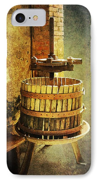 Tuscany Wine Barrel IPhone Case