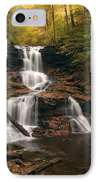 IPhone Case featuring the photograph Tuscarora Under Newfallen Leaves by Gene Walls