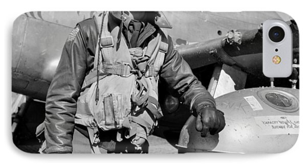 Tuskegee Airman Phone Case by Benjamin Yeager