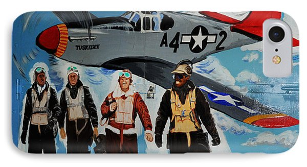 Tuskegee Airmen Phone Case by Leon Hollins III