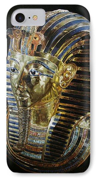 Tutankamon's Golden Mask Phone Case by Leena Pekkalainen