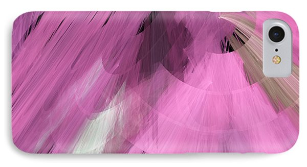 Tutu Stage Left Abstract Pink Phone Case by Andee Design
