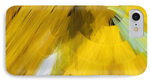 Tutu Stage Left Abstract Yellow Phone Case by Andee Design