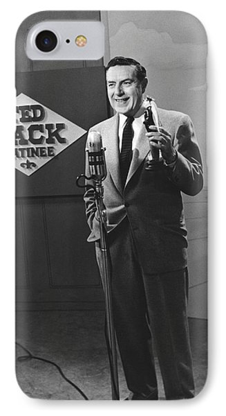 Tv Personality Ted Mack IPhone Case by Underwood Archives