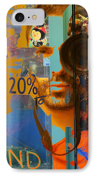 Twenty Percent Of Creativity  Phone Case by Empty Wall