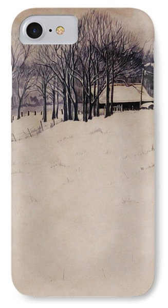 Twenty Two Inches IPhone Case by Barbara Hester
