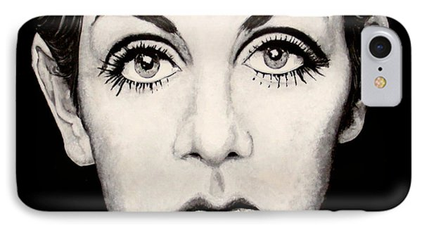 Twiggy Phone Case by Austin Angelozzi