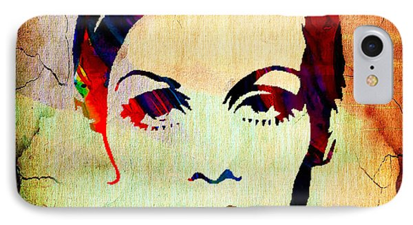 Twiggy Collection IPhone Case by Marvin Blaine