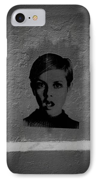 Twiggy Street Art Phone Case by Louis Maistros