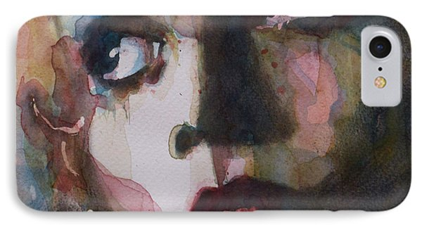 Twiggy Where Do You Go My Lovely IPhone Case by Paul Lovering