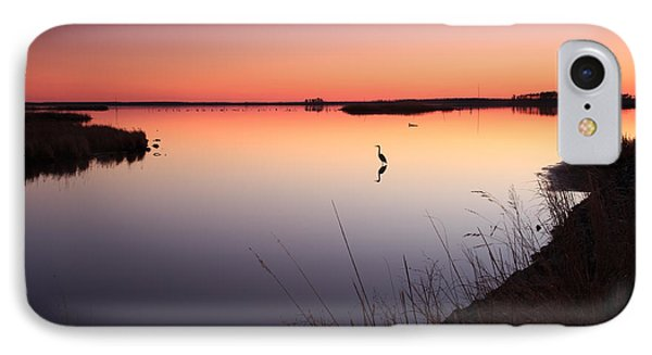 IPhone Case featuring the photograph Twilight At Blackwater Wlr by Jennifer Casey