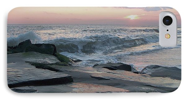 Twilight At Cape May In October IPhone Case by Eric  Schiabor