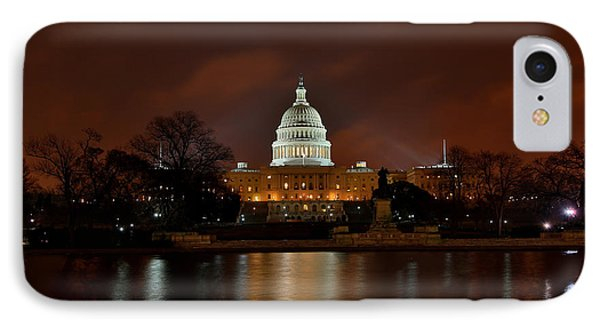 Twilight At The Capitol IPhone Case