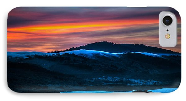 Twilight Crawling Fog Phone Case by Mike Lee